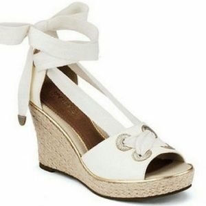 Sperry Lace Up Wedge Sandal